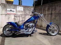 American Iron Horse Totenkopf Texas Chopper-Custom Top Modell 300 Metzeler