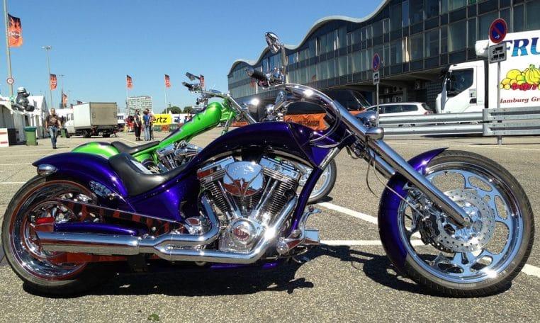 American Ironhorse Slammer SZ Purple