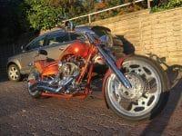American Ironhorse Slammer Snake Airbrush