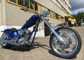 Candyblue American Ironhorse Texaschopper