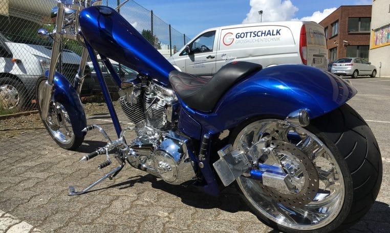 Candyblau American Ironhorse Texas Chopper
