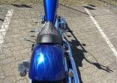 candy blau Flammen