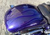 American Ironhorse Texas Custom Chopper Flip-Flop Purple