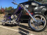 Ironhorse Texas Chopper flip-flop cristal blau