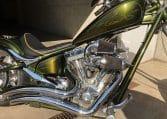 candygrüne Big Dog K9 Motorcycle Chopper