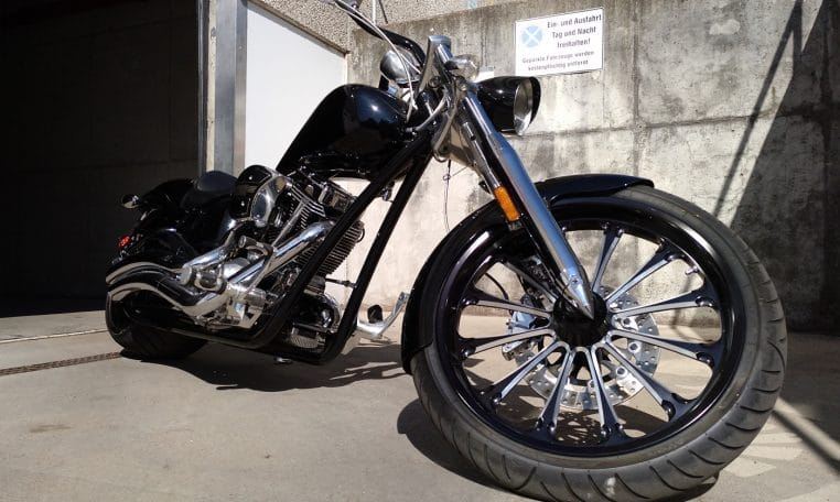 Big Dog Mastiff Limited Edition Custom Chopper 300 HR
