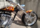 Reale Flammen Bulldog Big Dog Motorcycles