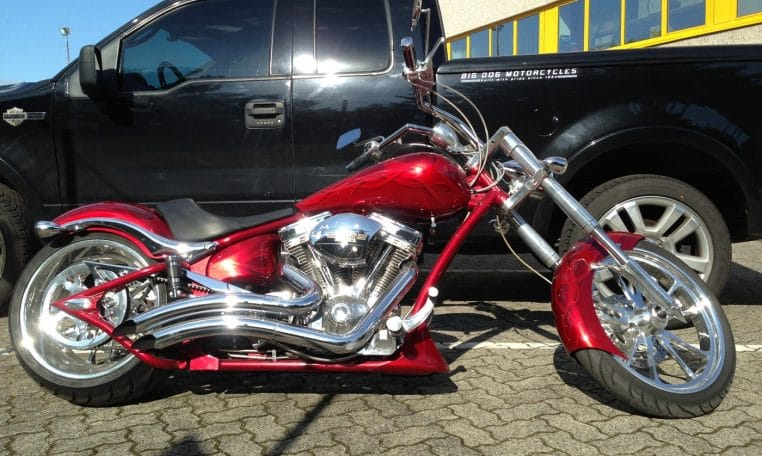 Candyflames Bulldog Big Dog Motorcycles 300 Hr