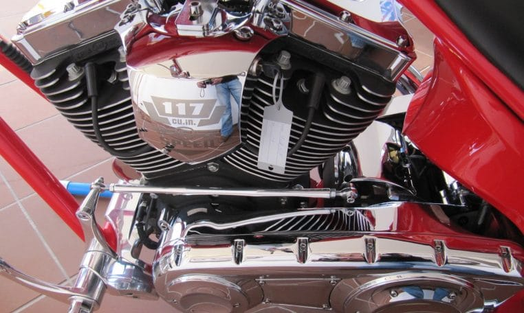 Big Dog Motorcycles Coyote Firered