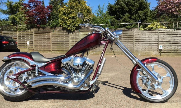 Big Dog Motorcycles K9 Darkcherry red Custom Chopper