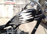 Big Dog K9 Silver-white-black Custom Paint Chopper