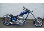 Big Dog K9 15 Jahre Edition silber-blaumetallic 300 Chopper