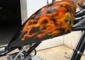 Big Dog Ridgeback Real Flames Abc Hamburg Chopper