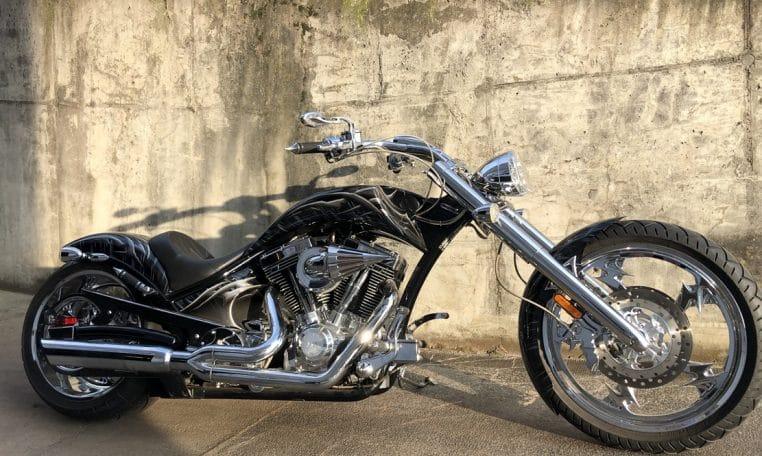 American Ironhorse Slammer SZ Totenkopf