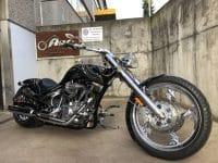 American Ironhorse Slammer SZ Totenkopf Bones Airbrush