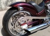 American Ironhorse Texas Chopper Dark-Cherry-Red