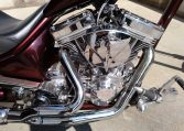 Ironhorse Custom Chopper Dark-Cherry-Red