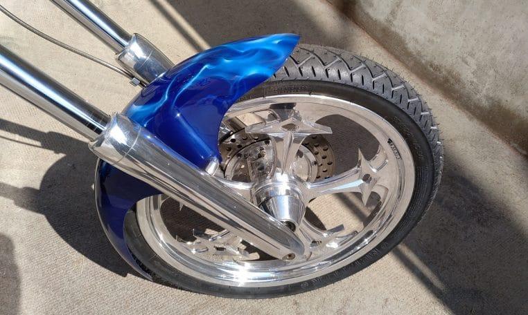 Candyblue American Ironhorse Texas Chopper 2008