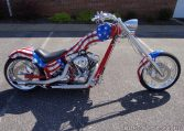Ironhorse Texas Chopper USA Flagge