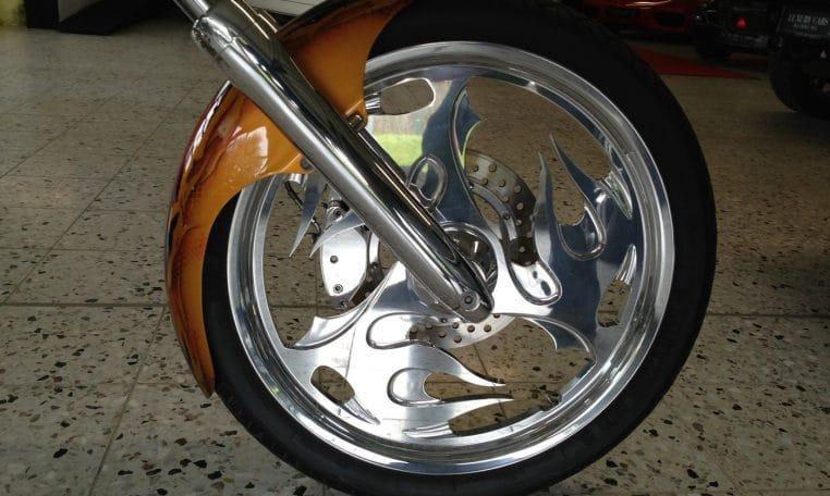 American Ironhorse Tejas Snake Custom Airbrush 280 Hr