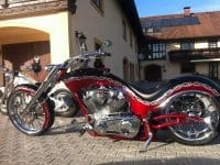 Big Dog Motorcycle Wolf EU Version 15 Jahre Edition