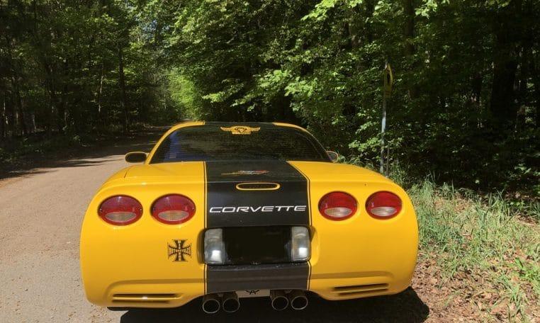 Chevrolet Corvette Z06 Version C 05 Racecup Schalter