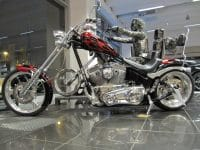 Big Dog Custom Chopper Candy-cristal Flammen