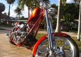 Big Dog K9 burningorange Custom Motorcycles by BDM