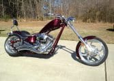 Big Dog Motorcycles K9 Darkcherry red Custom Chopper BDM