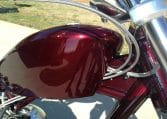 Dark Cherry red Big Dog Motorrcycle K 9