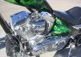 Big Dog Motorcycles K9 Edition Grün Custom Chopper