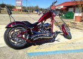 Big Dog Motorcycles K9 cherryred-black Flames Chopper