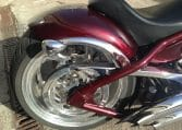 Big Dog Motorcycle Pitbull darkcherry-red 300