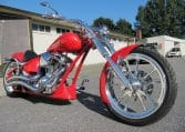 Purered Bulldog Big Dog Motorcycles 300 Avon