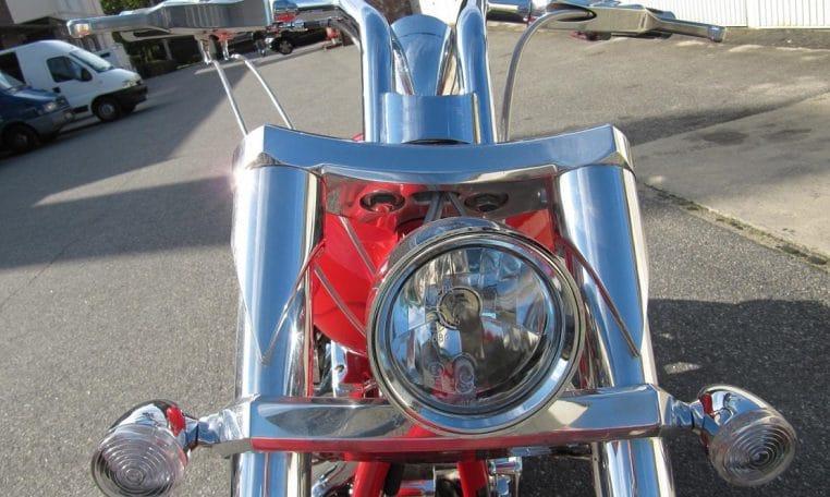 Purered Bulldog Big Dog Motorcycles 300 Avon