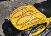 American Ironhorse Slammer Yellow-metallic