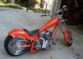 Ironhorse Texas Chopper orange-metallic 280 HR