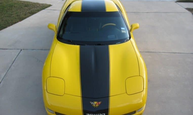 Corvette gelb Z06