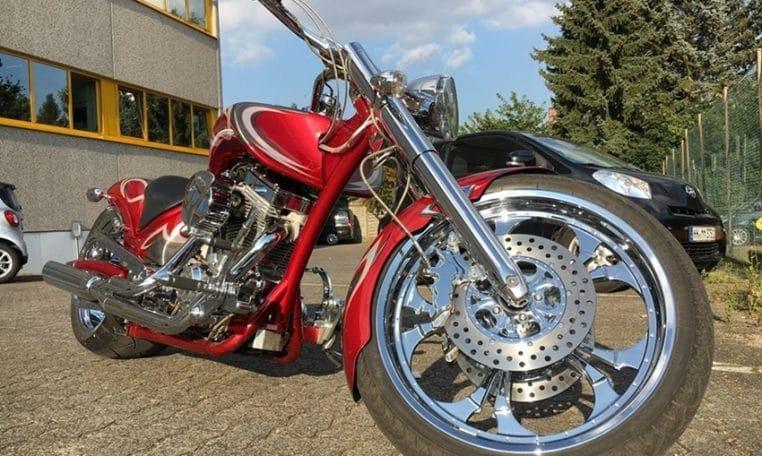 American Ironhorse Slammer Candyred Edition