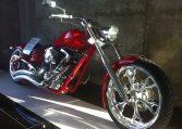 Big Dog Motorcycles Pitbull rot-schwarz