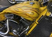 American Ironhorse Slammer gelb-metallic