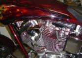 American Ironhorse Slammer rot 250 Hr