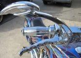 American Ironhorse Slammer Violett-Flames
