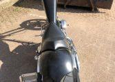American Ironhorse SS Diamantcut Flatblack Chopper