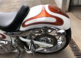 Big Dog Motorcycles K9 candywhite-orange 300 Hr